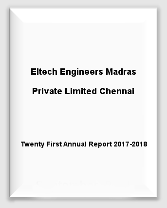 Eltech Engineers Madras Private Limited Chennai