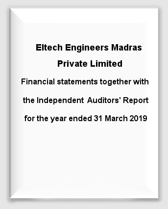 Eltech Engineers Madras Private Limited 2018-19